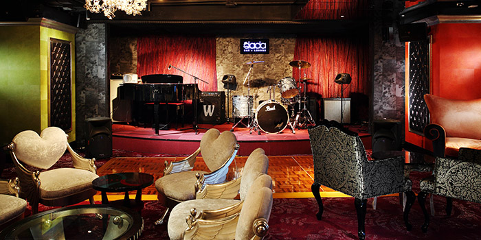 Stage, Dada Bar Lounge, Tsim Sha Tsui, Hong Kong
