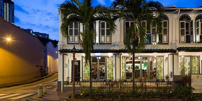 Exterior of Tippling Club in Tanjong Pagar, SIngapore