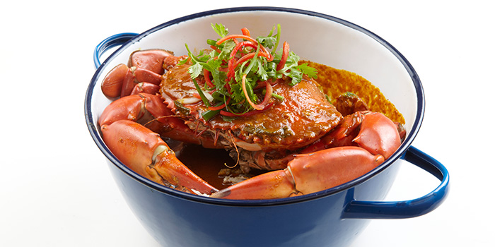 Phat Pong Mud Crab Curry from Talay Thai in Clarke Quay, Singapore
