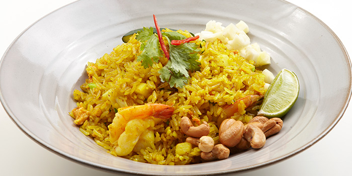 Pineapple Fried Rice from Talay Thai in Clarke Quay, Singapore
