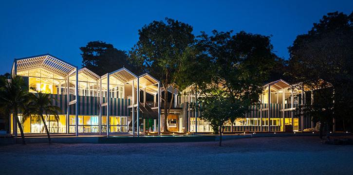 Exterior of FOC Sentosa Restaurant in Sentosa, Singapore