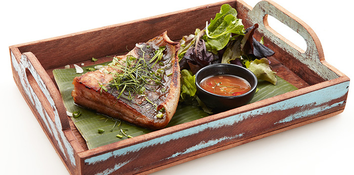 Oven Roasted Stingray from Talay Thai in Clarke Quay, Singapore