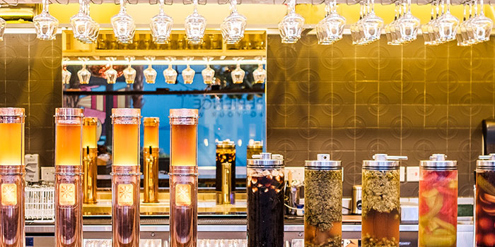 Beer Towers from Alchemist Beer Lab at South Beach Avenue in Bugis, Singapore