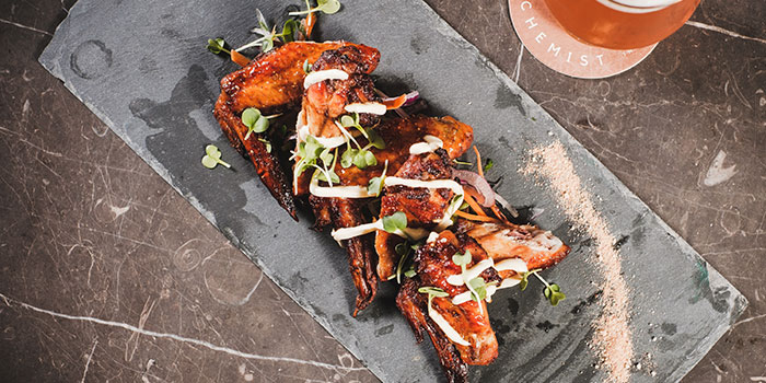 Sticky Thai Chicken Wings from Alchemist Beer Lab at South Beach Avenue in Bugis, Singapore