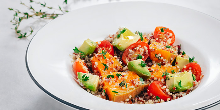 Avocado Quinoa, PizzaExpress Taikoo Shing, Taikoo Shing, Hong Kong