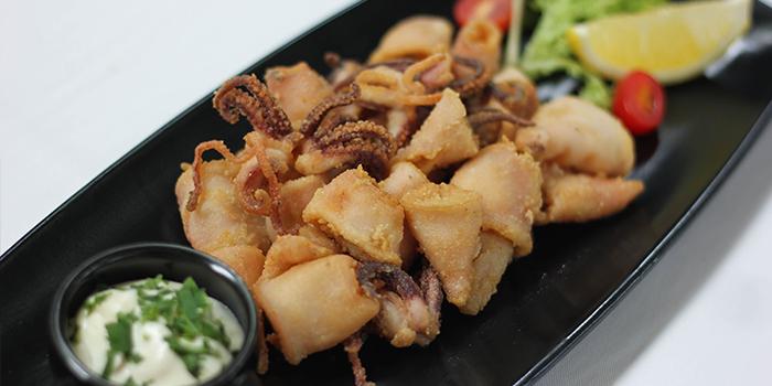 Calamaretti di Paranza from Limoncello in Robertson Quay, Singapore