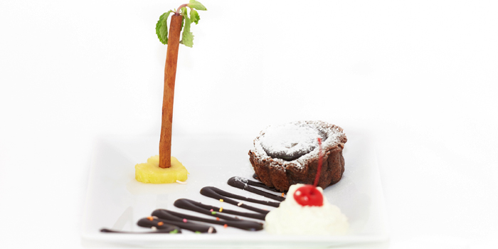 Chocolate Fondant from Black Cat Bar & Restaurant in Thalang Phuket, Thailand