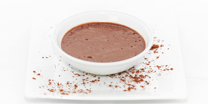 Chocolate Mousse from Black Cat Bar & Restaurant in Thalang Phuket, Thailand