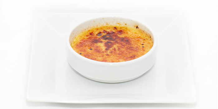 Creme Brulee from Black Cat Bar & Restaurant in Thalang Phuket, Thailand