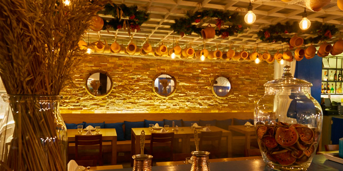 Dining Area from AVRA Authentic Greek Restaurant in Sukhumvit Soi 33, Bangkok