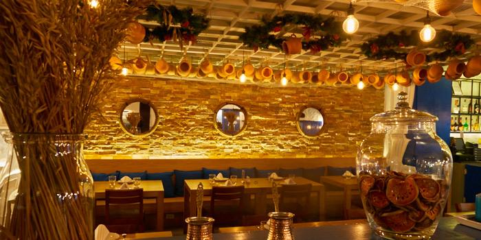 Dining Area from AVRA Authentic Greek Restaurant in Sukhumvit Soi 33, Bangkok