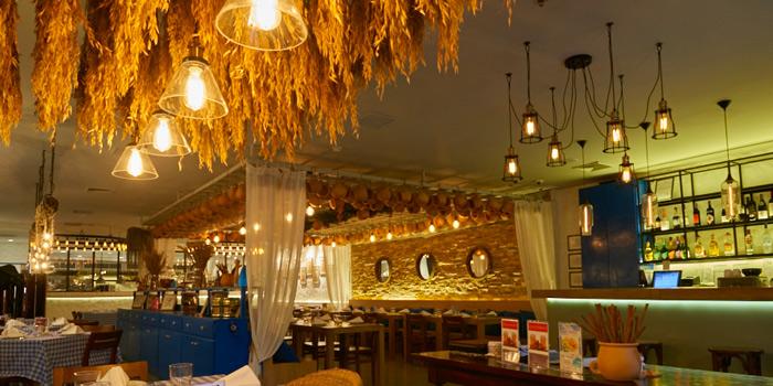 Dining Tables from AVRA Authentic Greek Restaurant in Sukhumvit Soi 33, Bangkok