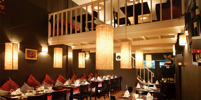 Dinning Area from DeDos in Cherngtalay Thalang Phuket, Thailand