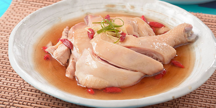 Poached Savoury Chicken from Eat@Taipei (Tampines Mall) in Tampines, Singapore