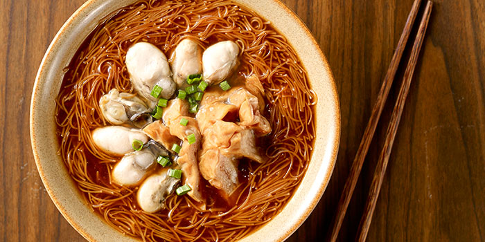 Vermicelli Oyster Pig Intestine from Eat at Taipei (SAFRA Toa Payoh) at SAFRA Toa Payoh in Toa Payoh, Singapore