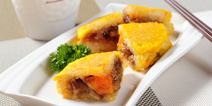 Egg-fried Glutinous Rice, Dim Sum Bar Harbour City, Tsim Sha Tsui, Hong Kong