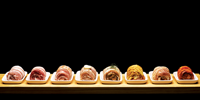 8 Colours Pork Set from 8 Korean BBQ (Shaw Centre) in Orchard, Singapore