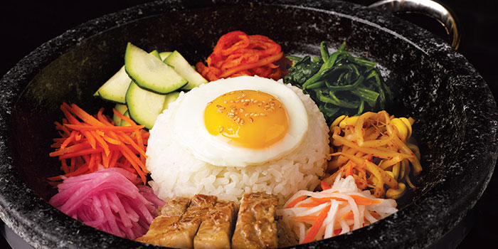 Bibimbap from 8 Korean BBQ (Shaw Centre) in Orchard, Singapore