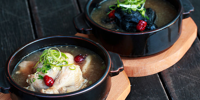 Ginseng Chicken Soup from 8 Korean BBQ (Shaw Centre) in Orchard, Singapore