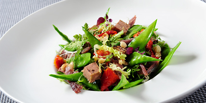 Foie Gras Salad, Fauchon Paris Le Café, Sha Tin, Hong Kong