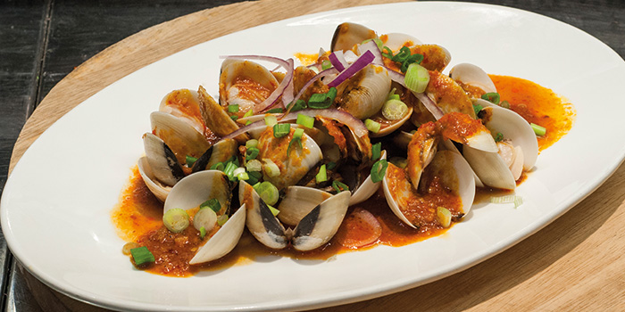 Sambal Clams from Fremantle Seafood Market in Clarke Quay, Singapore