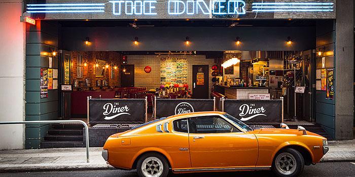 Exterior, The Diner, Central, Hong Kong