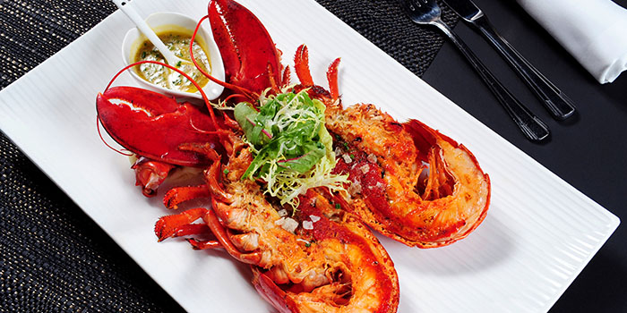 Grilled Lobster, Cafe Deco, Tsim Sha Tsui, Hong Kong