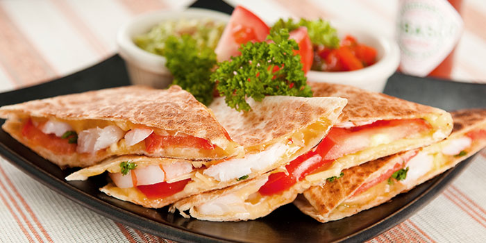 Quesadilla from Hot Stones Steak and Seafood in Clarke Quay, Singapore