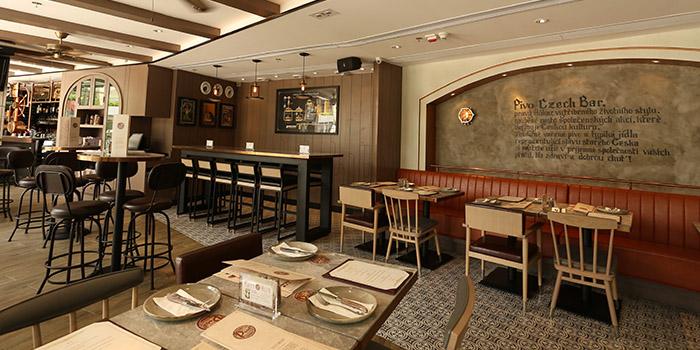 Interior, Pivo Czech Bar, Tsim Sha Tsui, Hong Kong