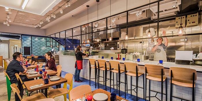 Interior, PizzaExpress Miramar, Tsim Sha Tsui, Hong Kong