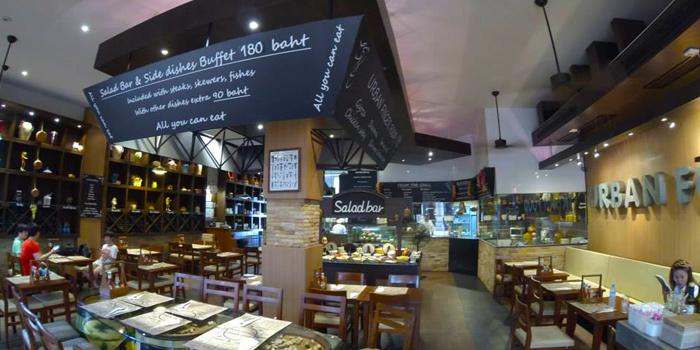 Interior of Urban Food at Jungceylon, Phuket