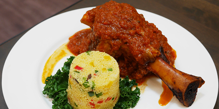 Osso Bucco from Kith Cafe (Marina Square) in Promenade, Singapore