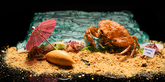 Chilli Crab from Restaurant Labyrinth in Esplanade in Promenade, Singapore
