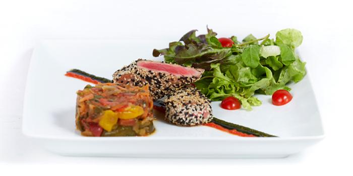 Mediterrenean Salad from Black Cat Bar & Restaurant in Thalang Phuket, Thailand