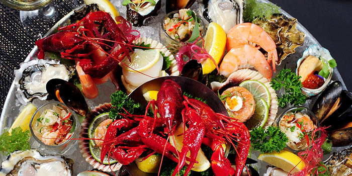 Ocean Seafood Platter, Cafe Deco, Tsim Sha Tsui, Hong Kong