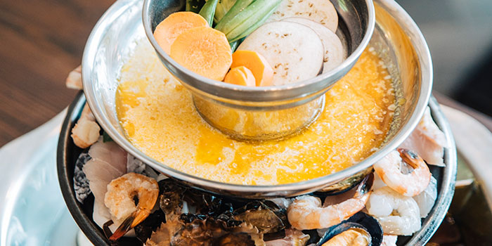 Pagoda Steamboat from Flame Cafe in Paya Lebar, Singapore