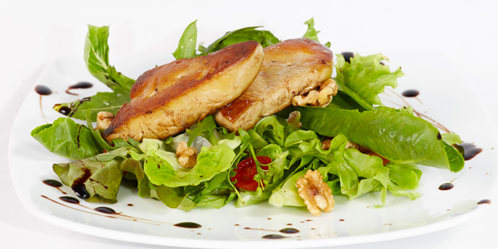 Pan Fried Foie Gras from Black Cat Bar & Restaurant in Thalang Phuket, Thailand