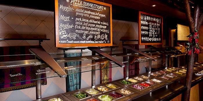 Pizza Customization, Nomads, Tsim Sha Tsui, Hong Kong