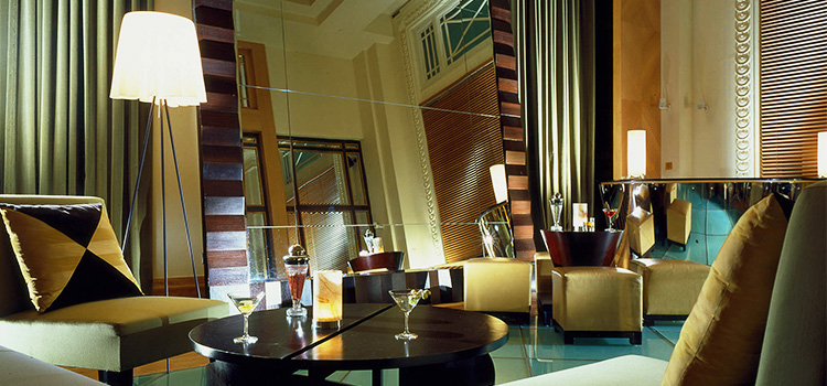 Music Room of Post Bar in The Fullerton Hotel, Singapore