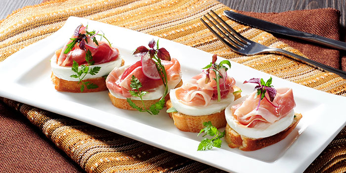 Prosciutto Crostini, Pickled Pelican, Stanley, Hong Kong
