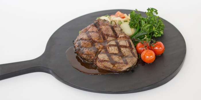 Ribeye Steak with Salad from Little House of Dreams in Dempsey, Singapore