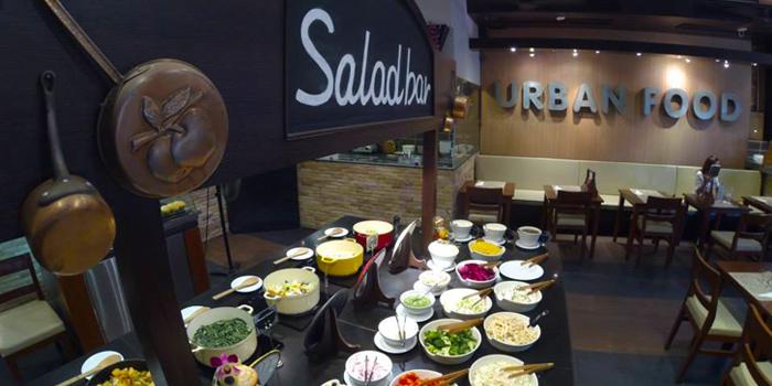Salad Bar from Urban Food at Jungceylon, Phuket