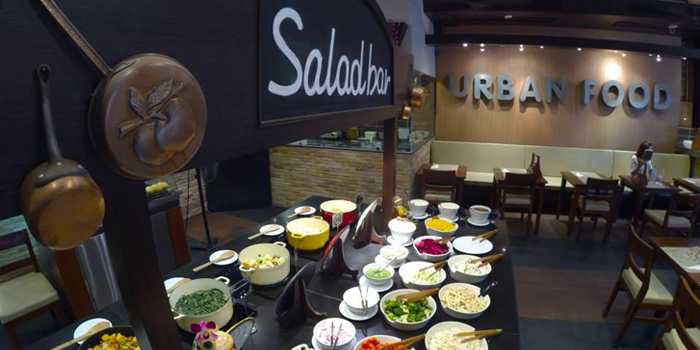 Salad Bar from Urban Food at Jungceylon, Phuket