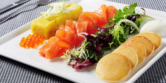 Salmon Platter, Fauchon Paris Le Café, Sha Tin, Hong Kong