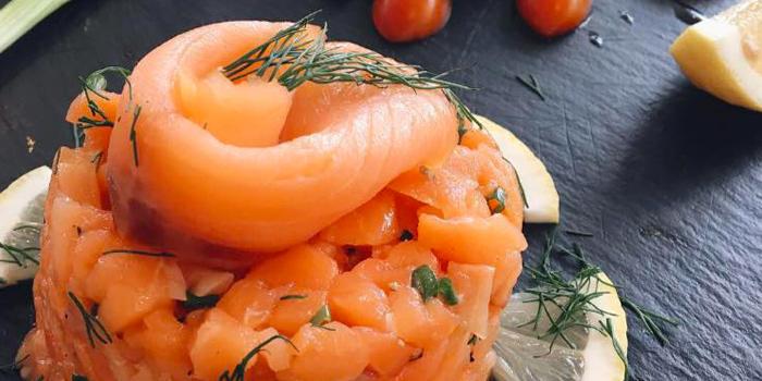 Salmon Tartar from THE KITCHEN at Jungceylon, Phuket