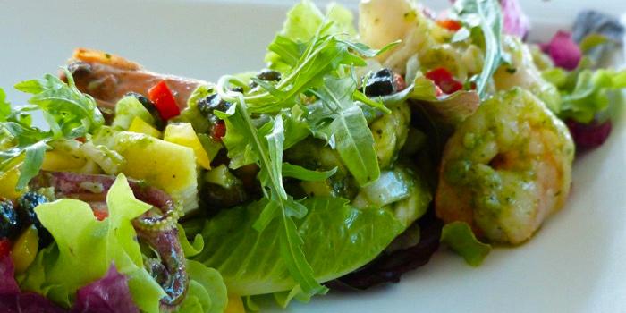 Seafood Salad from Patio Al Fresco at Phuket Panwa Beachfront Resort, Phuket