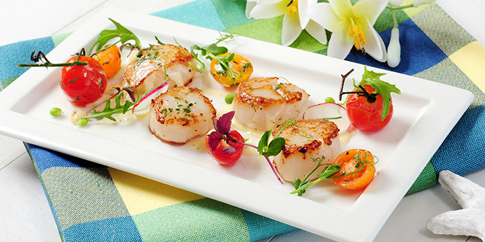 Seared Scallops, The Boathouse, Stanley, Hong Kong