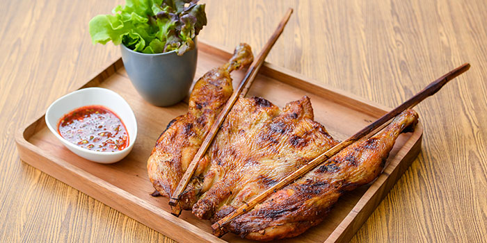 Butterfly BBQ Chicken from Siam Kitchen (Lot 1) in Choa Chu Kang, Singapore