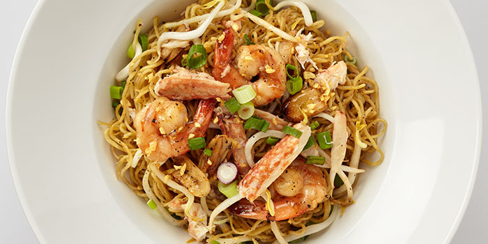 Egg Noodles with Crabmeat and Prawns from Siam Kitchen (Lot 1) in Choa Chu Kang, Singapore