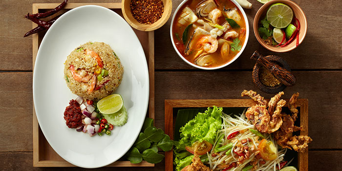 Food Spread from Siam Kitchen (Lot 1) in Choa Chu Kang, Singapore